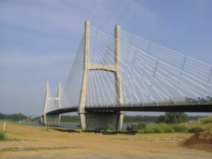 """Bill Emerson Memorial Bridge"" by Framerotblues - Own work. Licensed under Public domain via Wikimedia Commons - http://commons.wikimedia.org/wiki/"