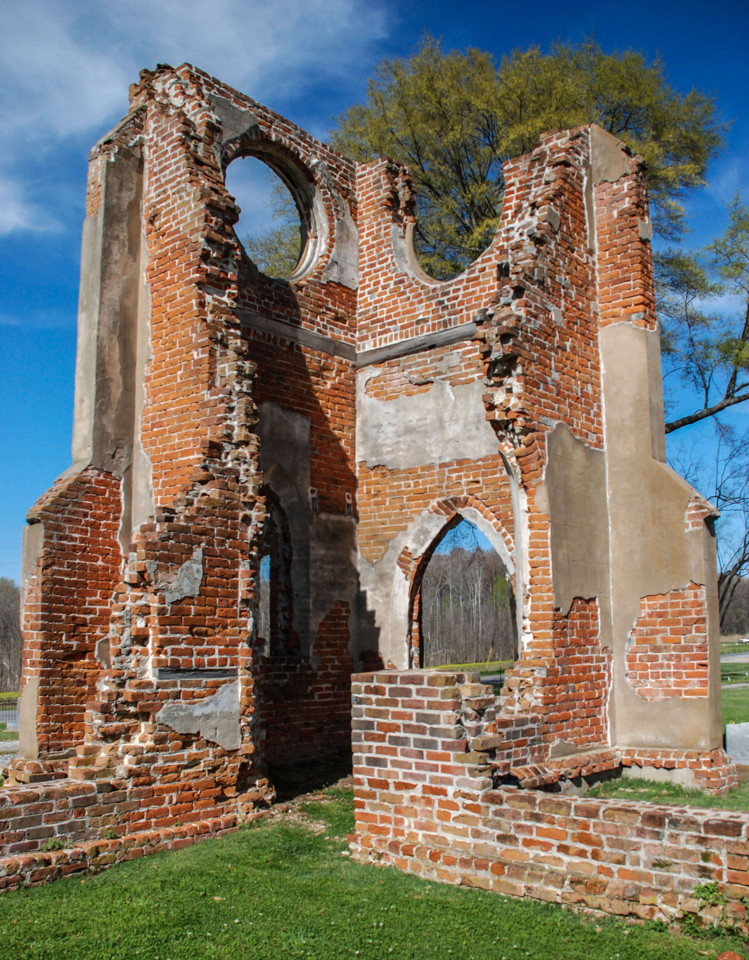 Mississippi washington county chatham - St John S Ruins By Keith Thurman