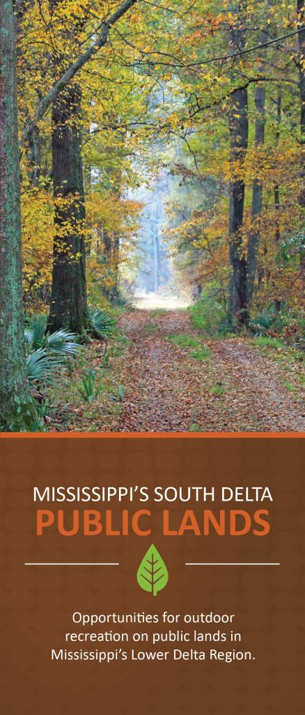 Mississippi s south delta public lands brochure and map for Mississippi fishing license cost